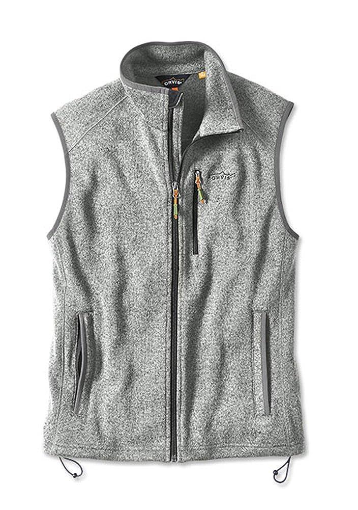 3fda678aefb68d Orvis Sweater Fleece Vest at Amazon Men s Clothing store