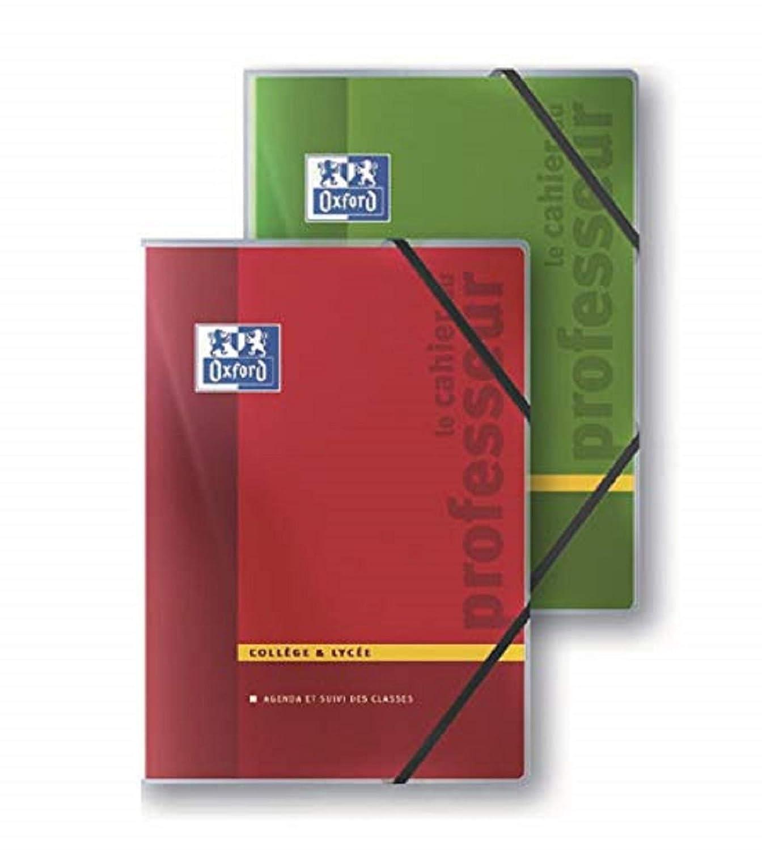 Oxford Enseignants Cahier de notes 44 pages A4 Coloris Aléatoires