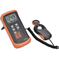 Dr.Meter Digital Light Meter, 0 - 200,000 Lux Light Lux Meter, High Accuracy Illuminance