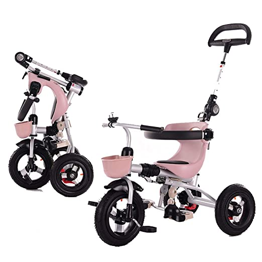 YUMEIGE triciclos Niños Triciclo Plegable 1-5 Años de Edad ...