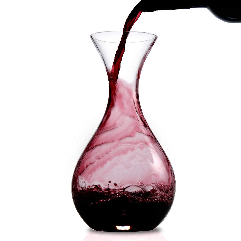 Wine Enthusiast U Wine Decanter by Wine Enthusiast