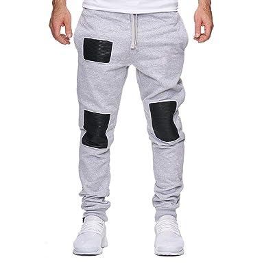 Pantalones Deportivos Largos Trabajo Cintura Elástica ...