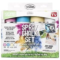 Testors 307587 Spray Chalk, 6 Oz, White