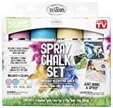 Testors 306006 Spray Chalk, 4 Color Kit, Assorted