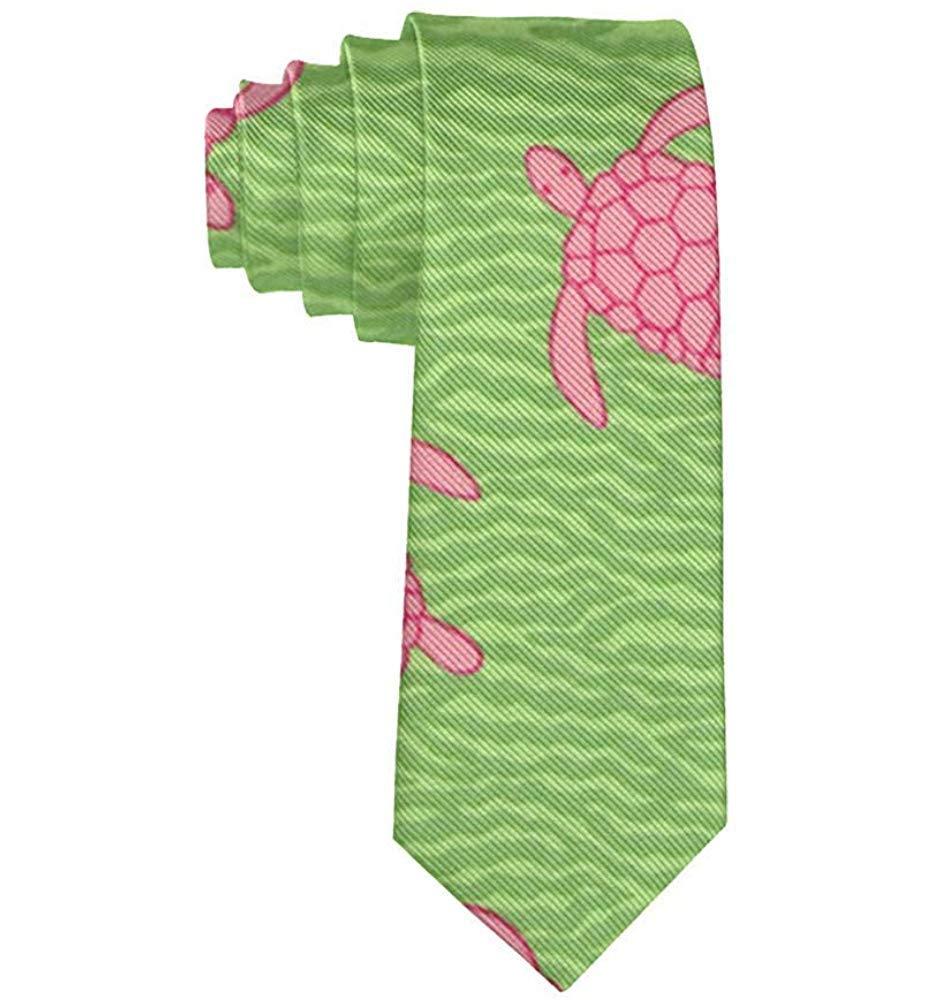 Corbata de tortuga rosa de tortuga rosa para hombre Fiesta Boda ...