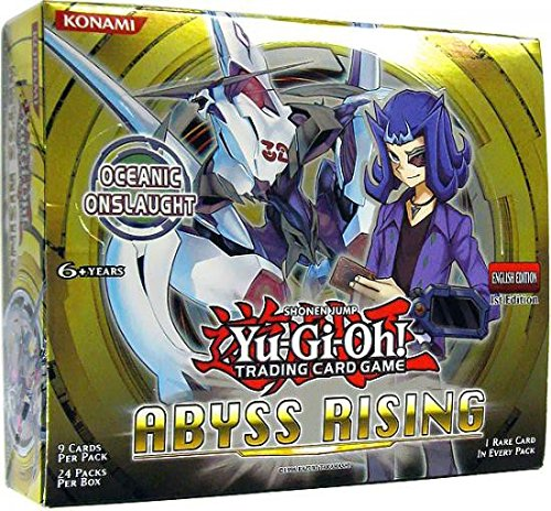 1st Edition Yu Gi Oh Booster - Yu-Gi-Oh! TCG Abyss Rising 1st Edition English Booster Box (24 Packs)