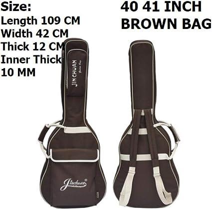 41 pulgadas bolsa de guitarra acústica impermeable 36 pulgadas ...