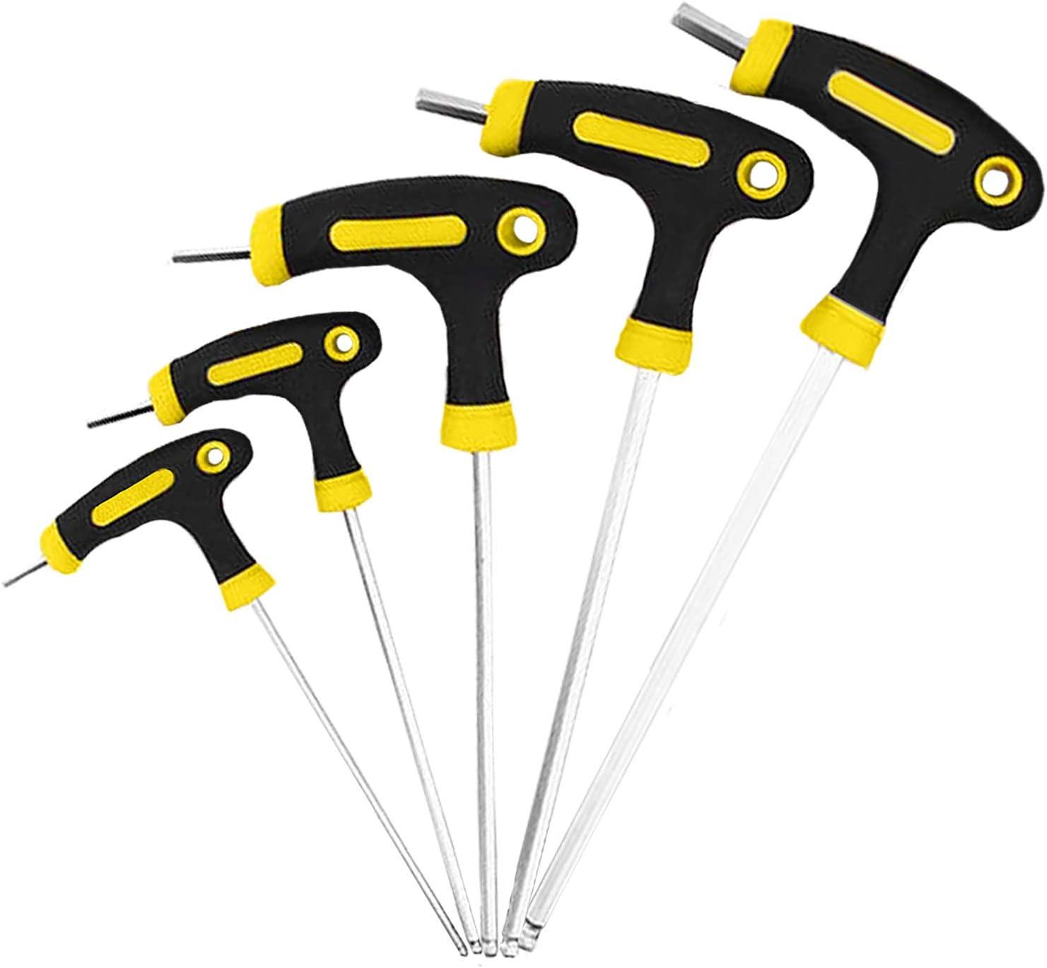 Bicycle Bike Repair Tools Motorcycle Allen Key Multi Hex Wrench Screwdriver 6T