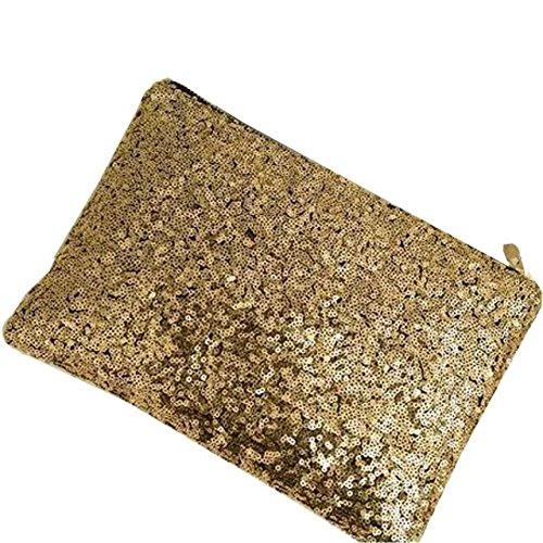 Lady Sparkling Sequins Handbag, Fashion Dazzling Prime Clutc