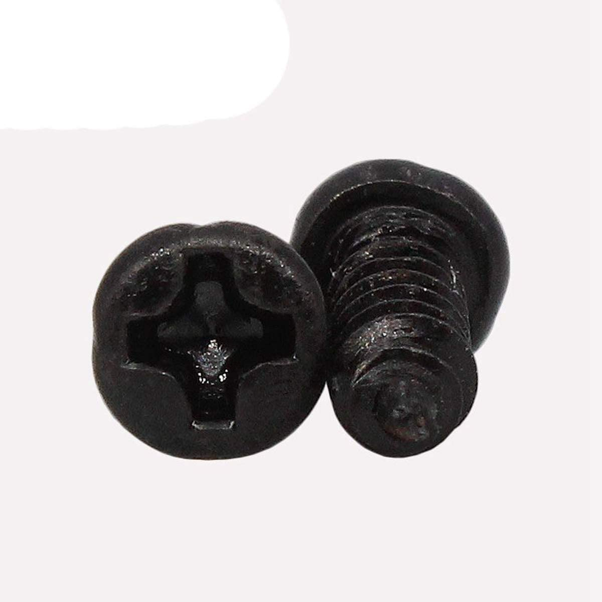 M1 Tornillo de 100 piezas M1 M1.2 M1.4 M1.7 M2.3 M2.6 M2 M3 Phillips Micro Tornillos de cabeza troncoc/ónica port/átiles autorroscante Tornillos electr/ónico peque/ño de madera 100 piezas 3mm