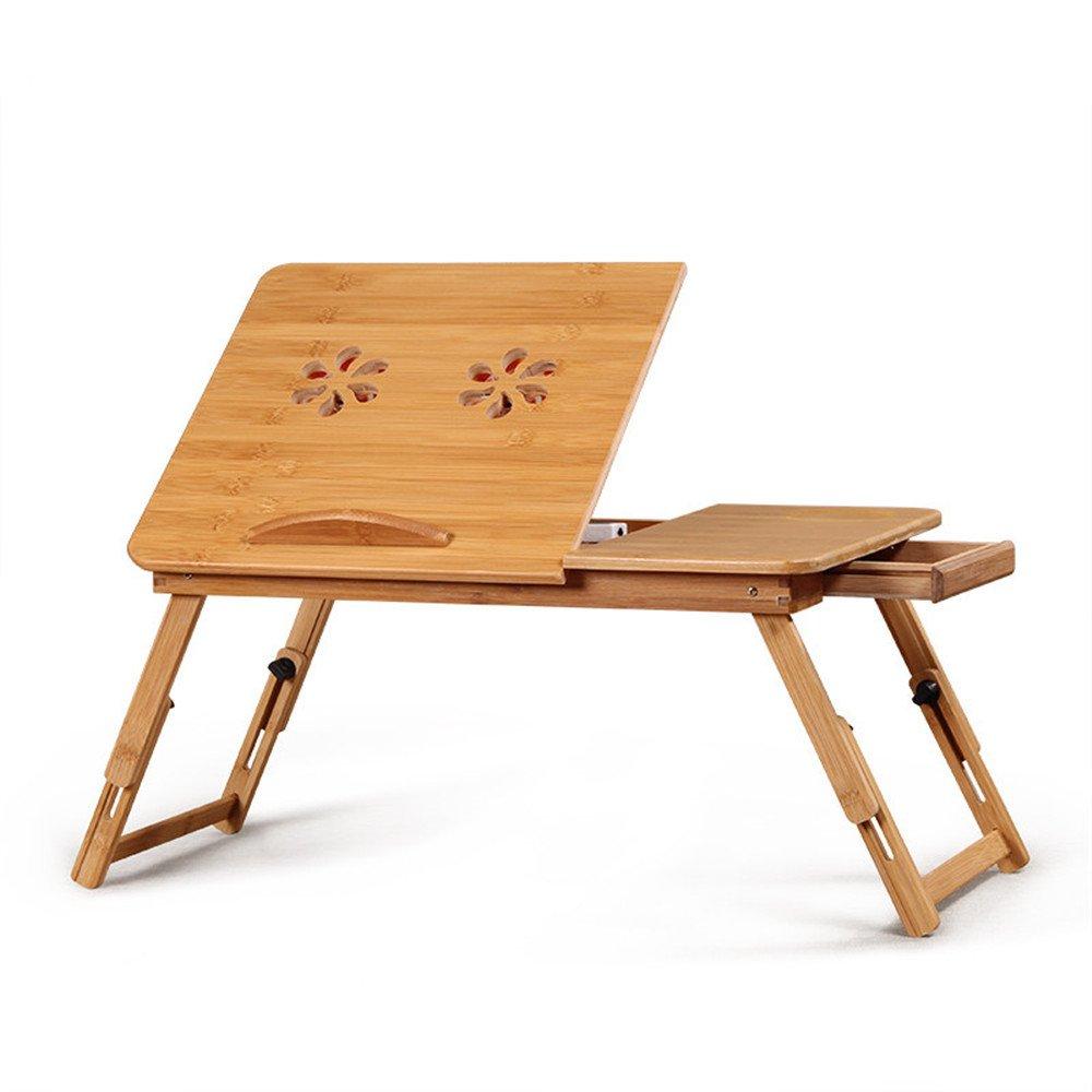 Portable Desktop Notebook Radiator Bracket/Bamboo Folding Bracket Base. Reading Holder for Couch Floor