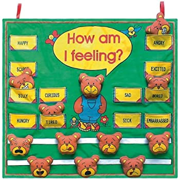 AmazonCom Get Ready Kids Feelings Wall Chart Toys  Games