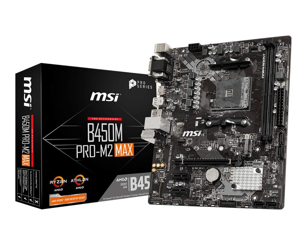Motherboard MSI B450M Pro M2 Max Socket AM4