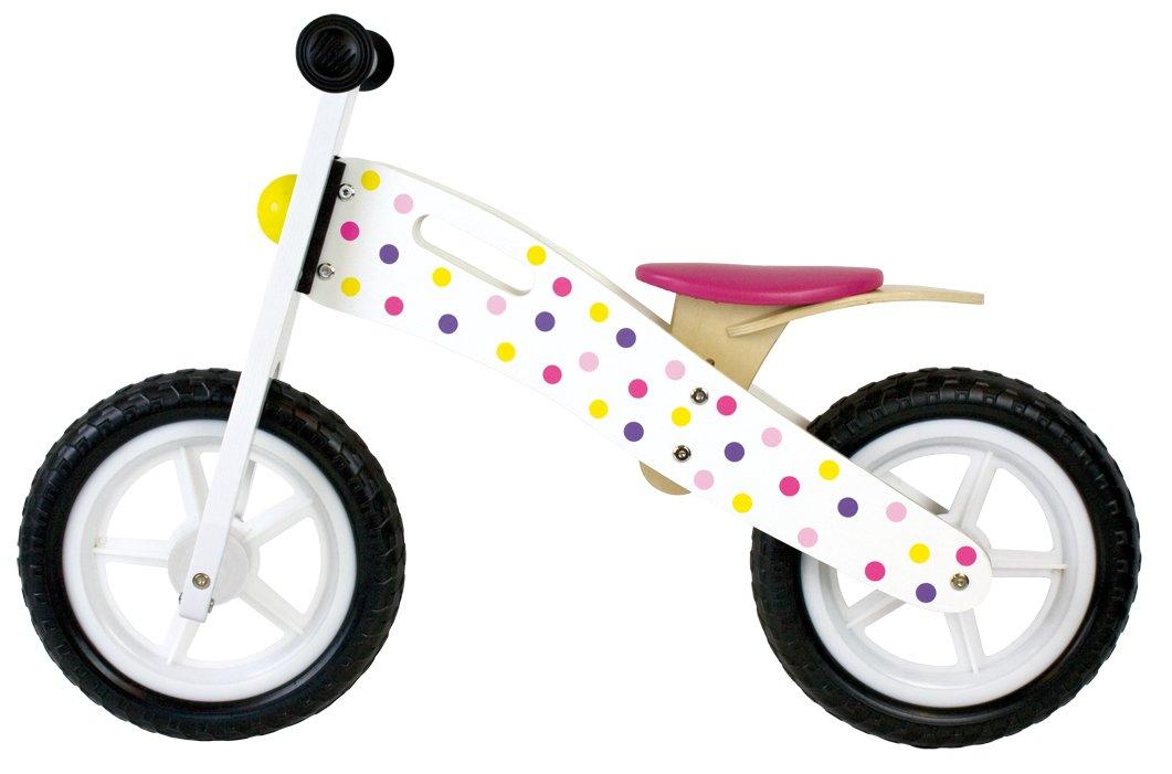 Jabadabado T224 Balance Bike Pink, Multi-Colour