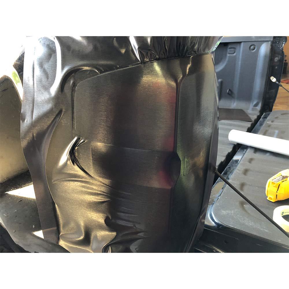 "20/"" x 2 Yard Luxe LightWrap Dark Metal Universal Headlight Tail Light Tint Kit"