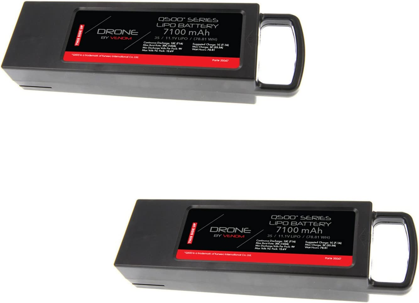 3S 5400mAh 11.1V LiPO Battery Packs Extra Flight Time for Yuneec Q500,Q500+,Q500 4K,Typhoon G Drone RC Quadcopter Q500 Gopro Multicopter Drone 4-Pack
