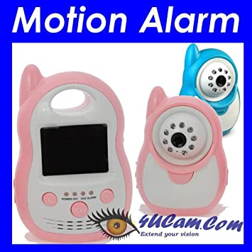 4UCAM 25quot Video Color Handheld Baby Monitor 900Mhz Wireless Camera Motion Audio Alarm