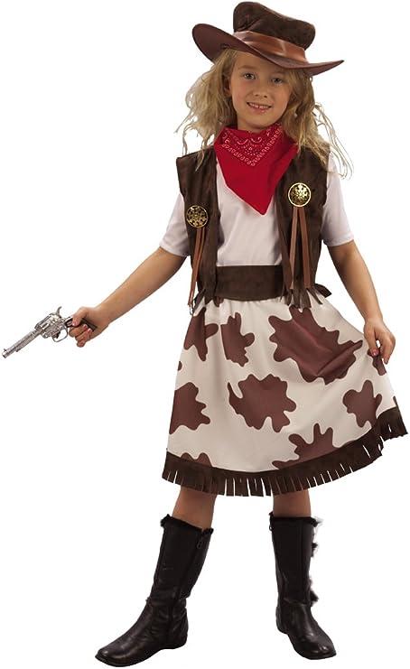 Disfraz de vaquera para niña: Amazon.es: Juguetes y juegos