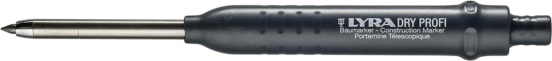 Lyra 4498101 Dry Profi Marker portamine con temperamatite integrato 4498101 marcatore per tutte le superfici 1 pezzo