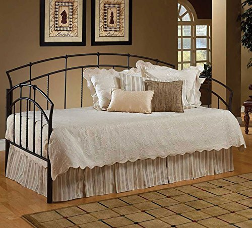 Hillsdale Vancouver Metal Daybed in Antique Brown Finish - Daybed Only ()