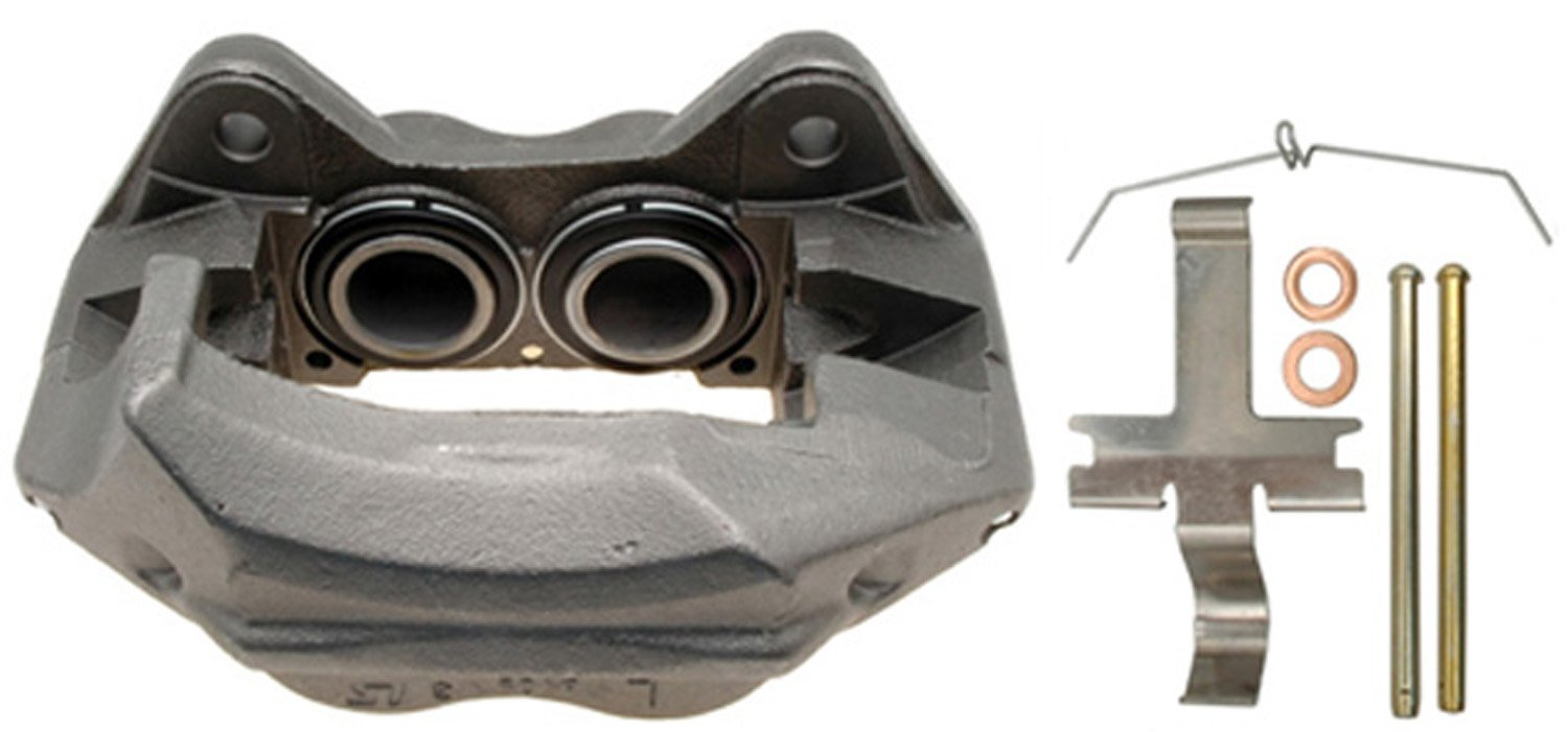 Remanufactured ACDelco 18FR1197 Professional Durastop Front Driver Side Disc Brake Caliper Assembly without Pads Friction Ready