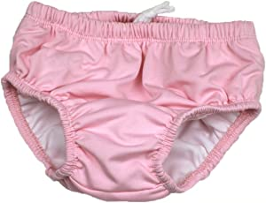 Anbaby Infants and Young Children Swim Diaper (XXL/24-36 Months/Over 29 lbs, Pink)