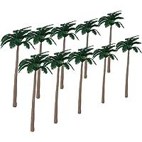20pcs arboles Modelo De Coco Playa Paisaje 12cm