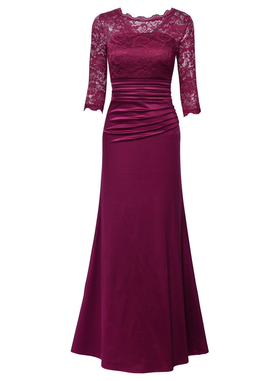 Vestidos de Encaje Elegantes: Amazon.es