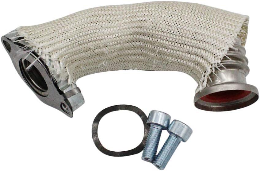 Kecheer Tubo a gomito radiatore SAAB 9-3 e 9-5 EGR Tubo e guarnizione radiatore 1.9 16V Diesel 55202704