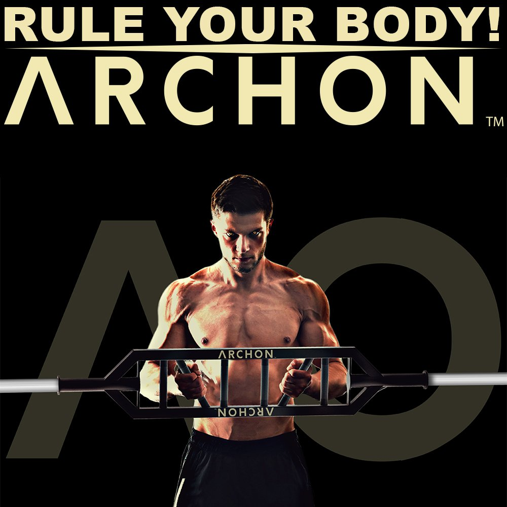 ARCHON Multi-Grip Olympic Bar by ARCHON (Image #3)