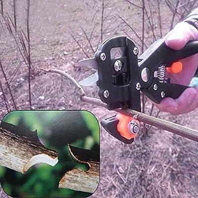 2 Blades Pro Manual Garden Fruit Tree Pruning Shear Grafting Cutting Snip Shears