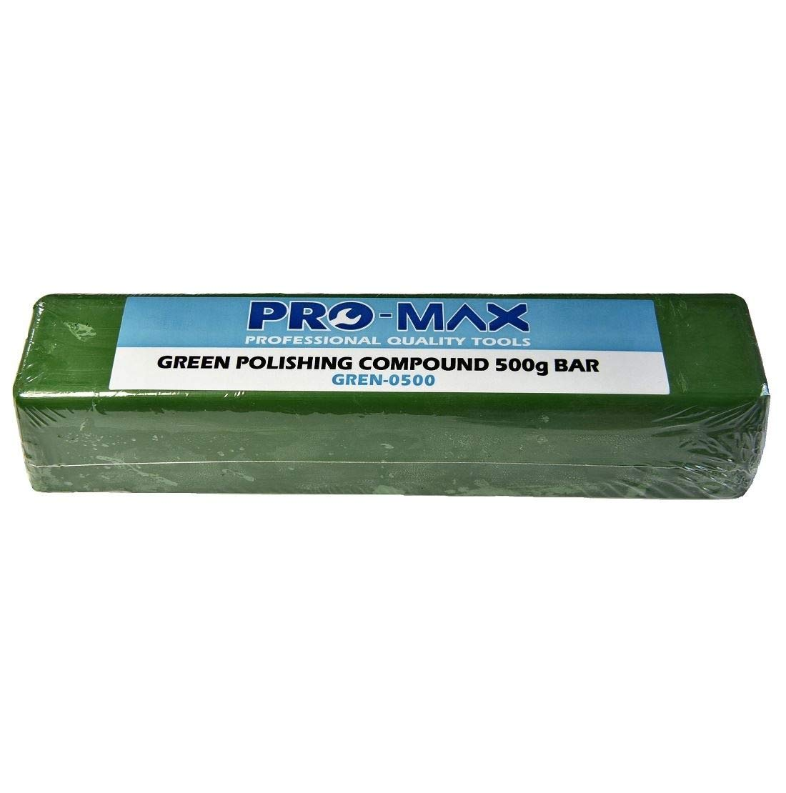 Pro-Max 500g Bar Green Steel & Stainless Steel Metal Polishing Buffing Compound Pro-Max Quality Tools & Accessories