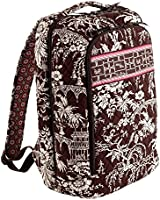 Vera Bradley Laptop Backpack in Imperial Toile