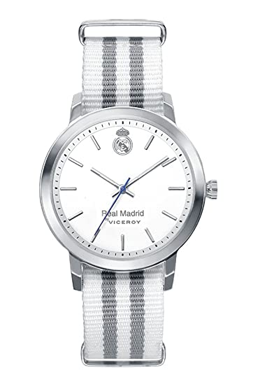 Reloj Oficial del Real Madrid Caballero 40969-07 Viceroy: Amazon.es: Relojes