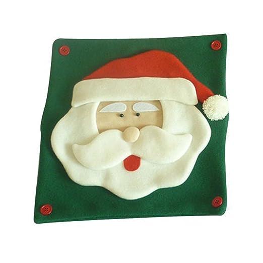 LAAT Funda de cojín para Almohada Cubiertas de Navidad para ...
