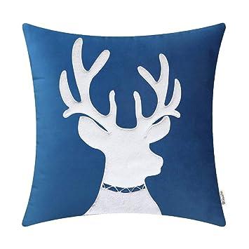 Amazon.com: BRAWARM - Funda de almohada para sofá, diseño de ...