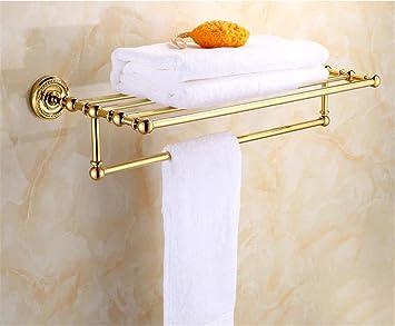 Gaoxu Continental Antiken Cu Alle Badezimmer Regal Antik Vergoldete