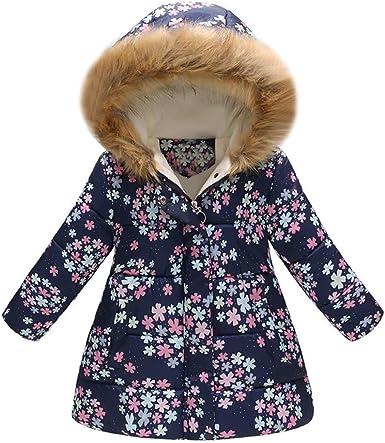 Kids Baby Girl Cloak Long Sleeve Jacket Winter Warm Coat Parka Outerwear Outfits