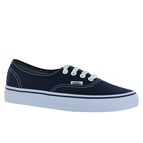 54d16dac70 Vans Unisex Authentic Solid Canvas Skateboard Sneakers Dark Blue 6.5 B(M)  US Women   5 D(M) US Men  Buy Online at Low Prices in India - Amazon.in
