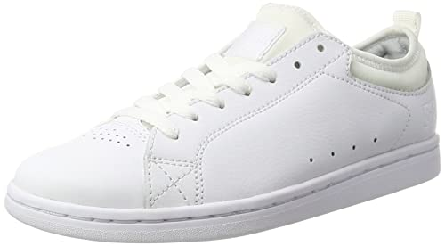 DC Shoes Magnolia, Zapatillas para Mujer, Blanco (White/White/White-Combo), 36 EU