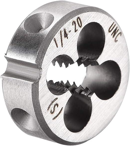 "Made in USA #8-32 UNC Thread 1/"" Outside Diam High Speed Steel Round Die Righ..."