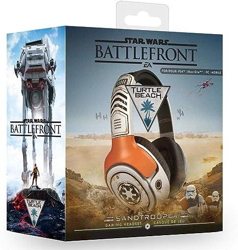 Turtle Beach Star Wars Battlefront Sandtrooper Gaming Headset (Ps4 ...