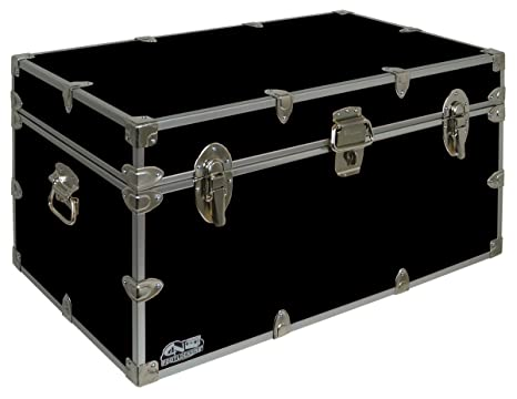 Amazon.com : College Dorm Room U0026 Summer Camp Lockable Trunk Footlocker With  Cable Lock   Undergrad Trunk By Cu0026N Footlockers : Sports U0026 Outdoors Part 71
