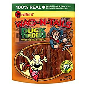 westminster pet products 08222 Wag N Tails, LB, Ducky Jerky, Dog Treat