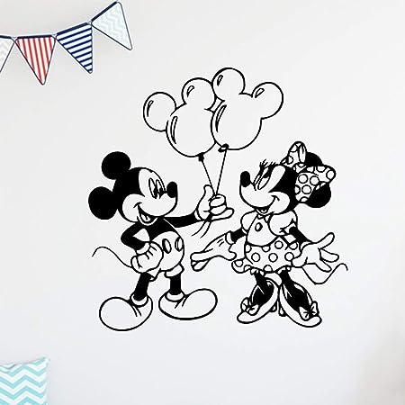 xinyouzhihi Moderno y Minie Mouse Etiqueta de la Pared Vinyle ...
