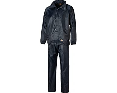 Dickies WP10050-NB-L Vermont - Traje impermeable (talla ...