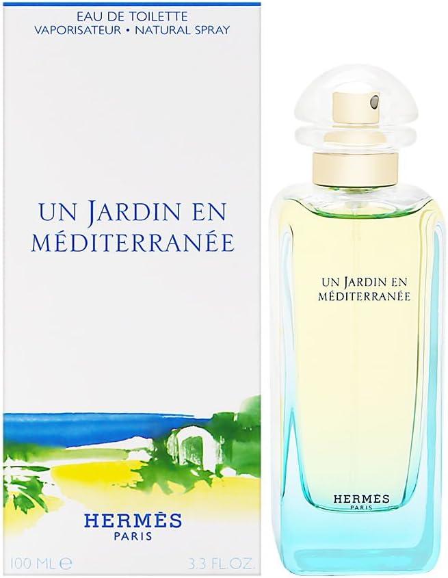 Hermes Un Jardin En Mediterranee Eau de Toilette Para Mujeres - 100 ml: Amazon.es: Belleza