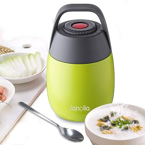 6c7c0874e03c2 Amazon.com  Janolia Vacuum Insulated Food Jar