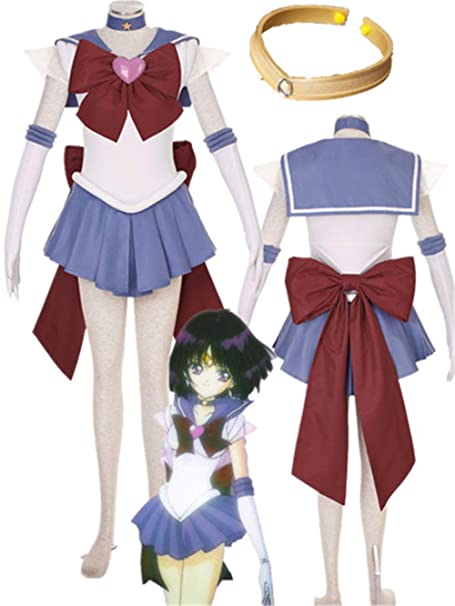 Amazon.com: YOUYI Sailor Moon Saturn Halloween Disfraz con ...
