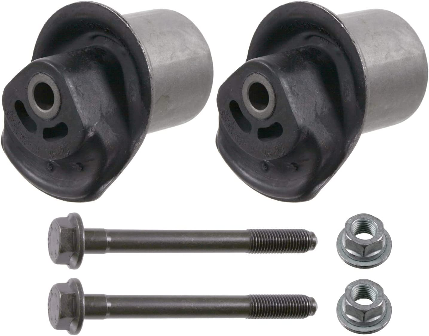 febi bilstein 01220 axle beam mounting kit with screws and nuts Pack of 1 rear axle both sides